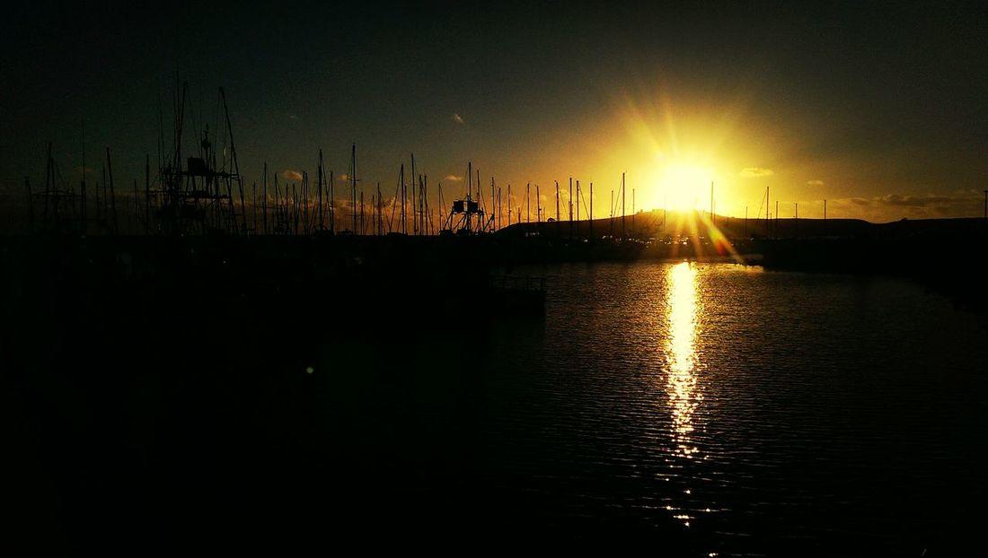 sunset Half Moon Bay, California Starting A Trip Sunsets Yacht Rock California