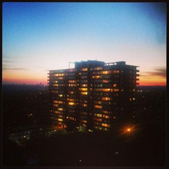 Birgün daha bitti..♥♥ Balkon sezonuda açıldı ♡♡ Gun Batımı Manzara Balkon keyfi bbq fun friends
