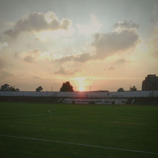Estadio Alfonso López universidad nacional Cloud - Sky Tranquil Scene Tranquility Sky Grass Day Beauty In Nature Outdoors Field Agriculture Landscape Sunset Crop  Rural Scene Business Finance And Industry No People Steel Tree Food Scenics First Eyeem Photo