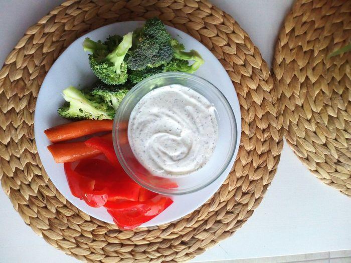 Close-up of vegetables in basket