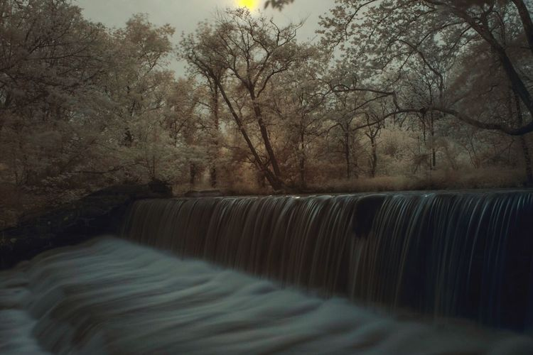 Dam revisit Check This Out Taking Photos Nature Beauty Landscape Exploring Light And Shadow Trees Beautiful Photography Infrared Virginia Check This Out Beauty In Nature Hoyafilters EyeEm Nature Lover Xpro1 The Magic Mission