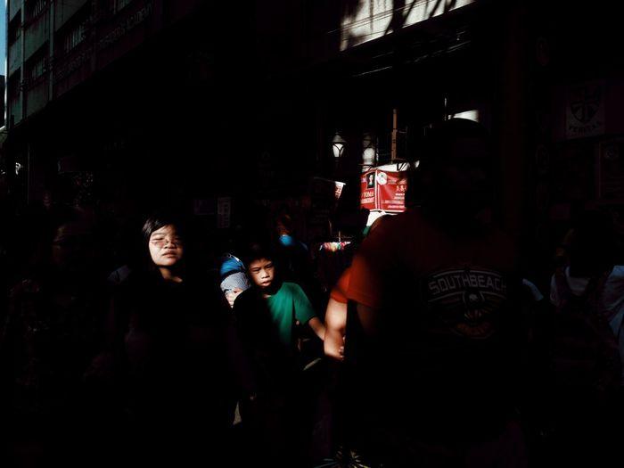 Crowd Dark Street Eyeem Philippines Mobilephotography