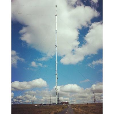 Almost Whpfilltheframe this is the 1000ft Tvmast on Winterhill WestPennineMoors