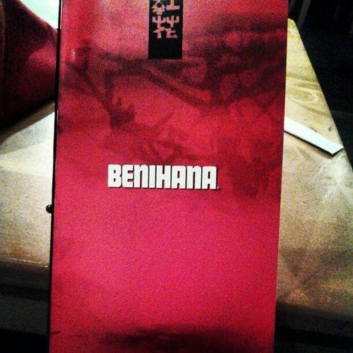 Eating good at Benihana...Goodlife Westcoastlivin Youngrichandflashy