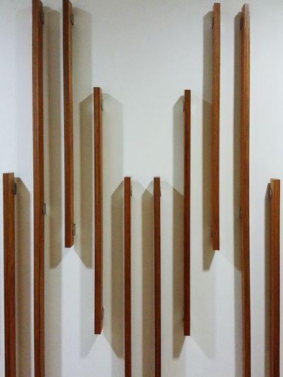 Wood & Shadow Lines Parallel Lines Indoor Design