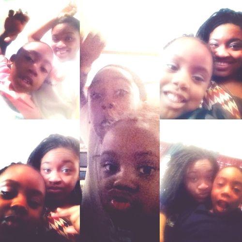 My niece & nephew .!