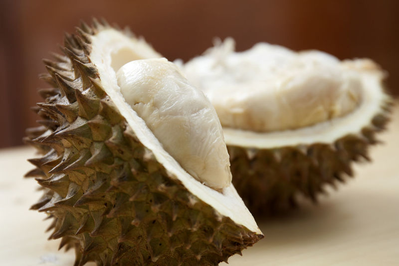 Durian Medan Close-up Focus On Foreground Food Food And Drink Freshness Healthy Eating Indoors  Ingredient Mushroom No People Raw Food Selective Focus SLICE Spice Still Life Studio Shot Table Tropical Fruit Vegetable Wellbeing