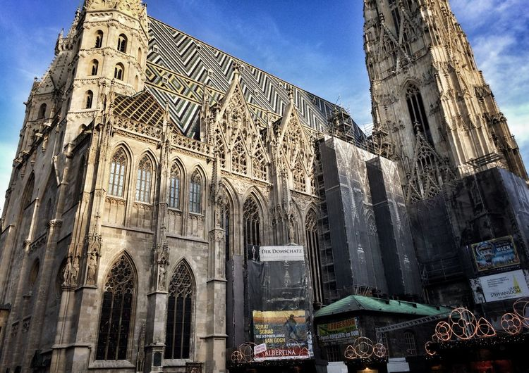Architecture Built Structure Stephen's_cathedral Vienna History Religion Day No People Historical_places December Beautiful_austria First_photo First Eyeem Photo