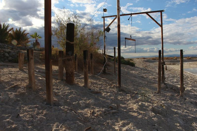 One of the many dried up docks at the Salton Sea Salton Sea First Eyeem Photo California Southern California Desert Oasis Nature