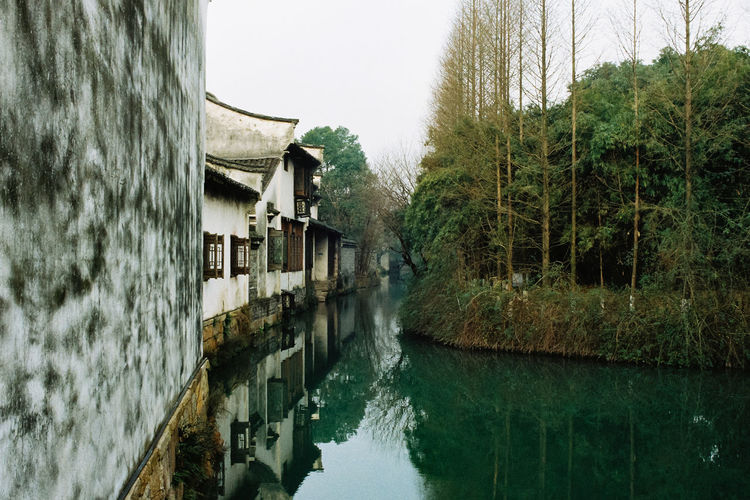 Agfa Agfavista400 Ancient Architecture Architecture Architecture Built Structure Chinese Culture Day Film Film Is Not Dead Film Photography Filmisnotdead Lake Minolta Nature No People Outdoors Reflection Sky Stream - Flowing Water Traditional Architecture Travel Tree Water Watermill