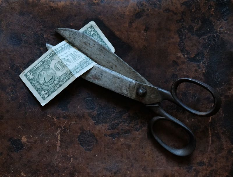 Cut Financial District  Money Money Money Sale USA Banking Business Finance And Industry Crisis Desaster Dollar Notes Finance Finance And Economy Financial Crisis Financial Planning For Sale Money Money Around The World Money Desaster No Money One Dollar  Still Life