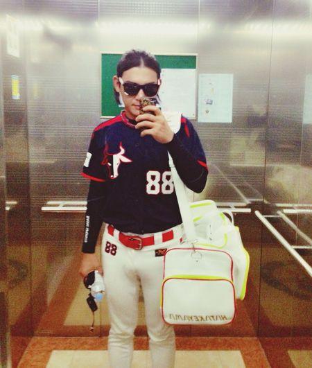 Baseball Hi! That's Me Enjoying Life