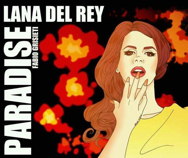 Lana Del Rey Fun Art Made By Me