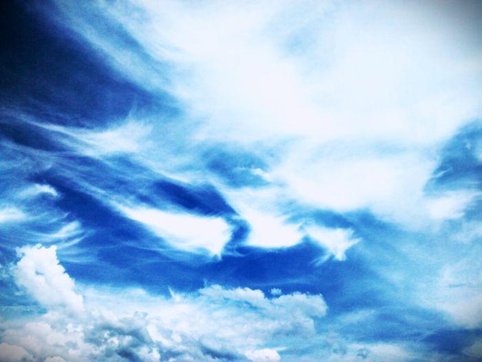 My sky. Cloud -