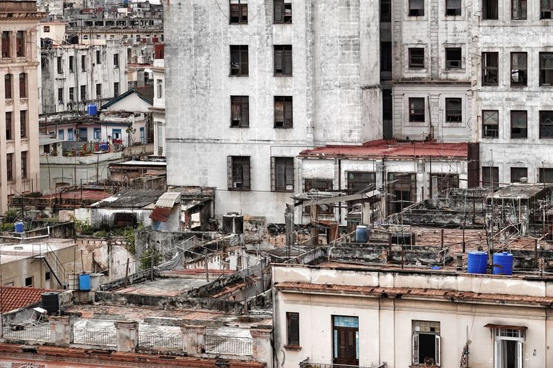 Havana, Cuba Architecture Building Exterior Built Structure Residential Building City Outdoors Day