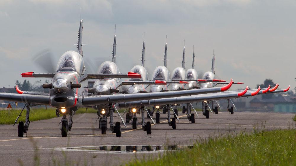 Aerobatics Air Force Aircraft Aviation Eagle Military Orlik Photography Plane Poland Te Team