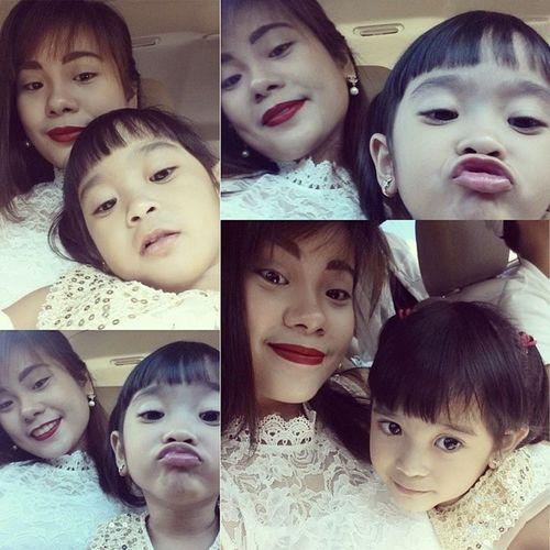 Sume-selfie ang baby! Hehehe Iarapot Christmas2013 Lalalabitigan