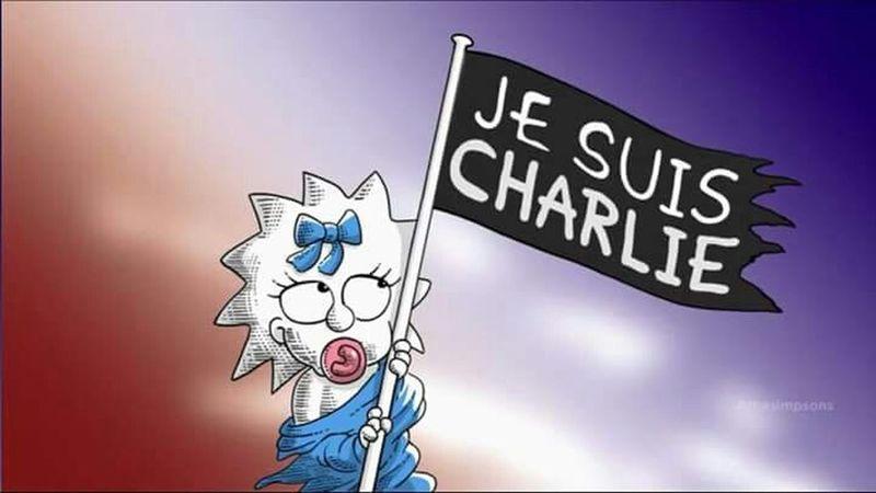 Jesuischarlie JesuisCharlie♥ The Simpsons Maggie Simpson Maggie