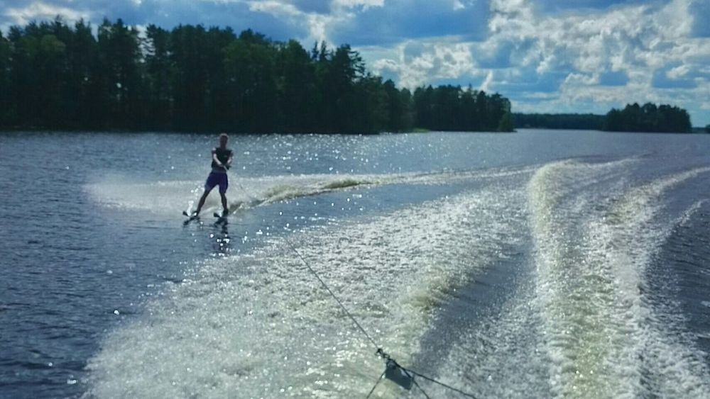 Summer Activity Waterskiing