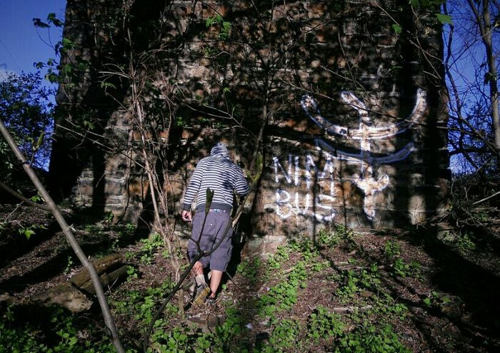 The Hidden Fort..... Exploring Life In Motion Notes From Underground A Walk In The Woods Stunning_shots Clouds And Sky Spiritual Travelers