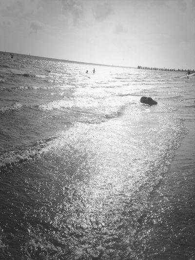 Need Holidays On The Beach Insel Föhr Blackandwhite