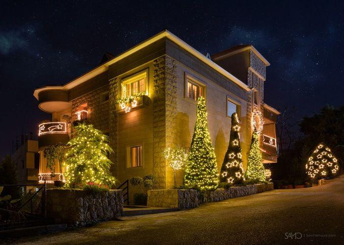 Christmas Tree , zouk mikael, Lebanon Christmas 2014