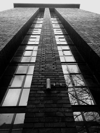 Building Blackandwhite Taking Photos Lines Window