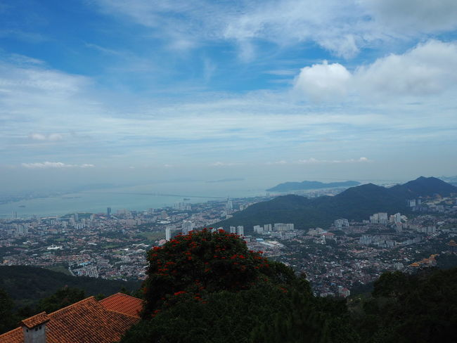 Architecture Cityscape Building Exterior City Built Structure High Angle View House Cloud - Sky Town Outdoors Residential Building Sky No People Skyscraper Day Aerial View Roof Community Urban Skyline Mountain Penang Heritage Penangtrip Penang Penang, Malaysia Penang Hill