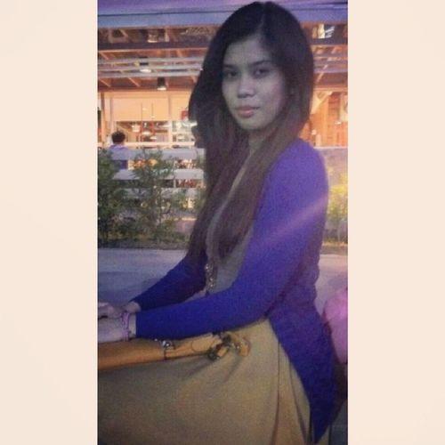 Katarayan version 2.0 Blogger Asian  Pinay Hairdiaries tbt blue