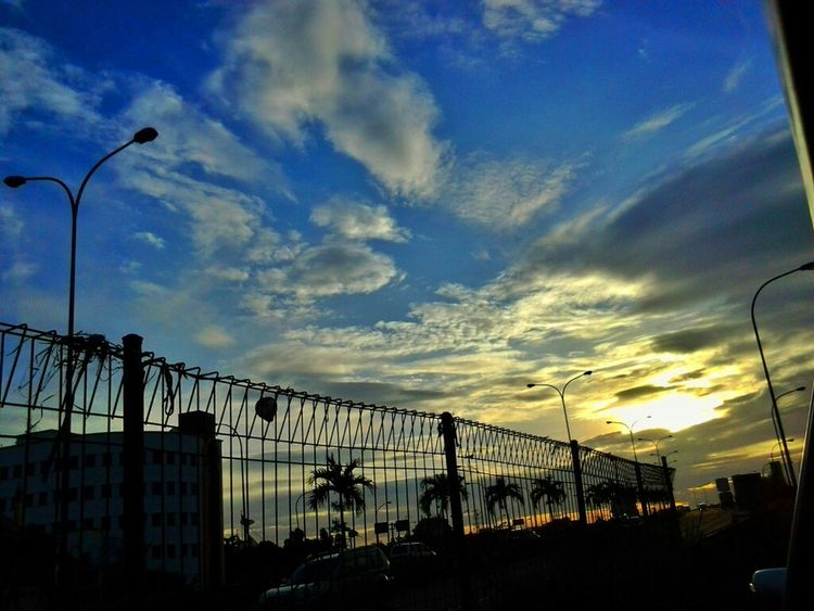 Sunrise No Filter Blue Sky Good Morning World! Skyporn Sky And Clouds Cloudsporn