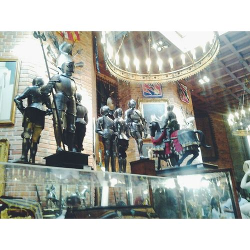 Museo Soldados Bonecos Armadura