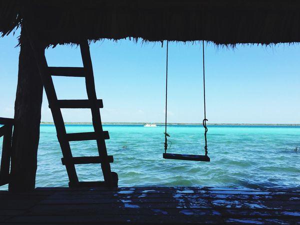 Laguna Bacalar Bacalar Blue Lagoon Mexico Caribbean Caribe Mexico Nature Colors Color