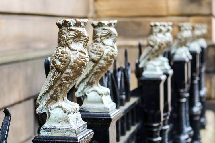 Art And Craft Birds Birds Of EyeEm  Birds_collection Close-up Day Gold Gold Colored No People Outdoors Owl Art Owlcity Owls Sculpture Statue United Kingdom