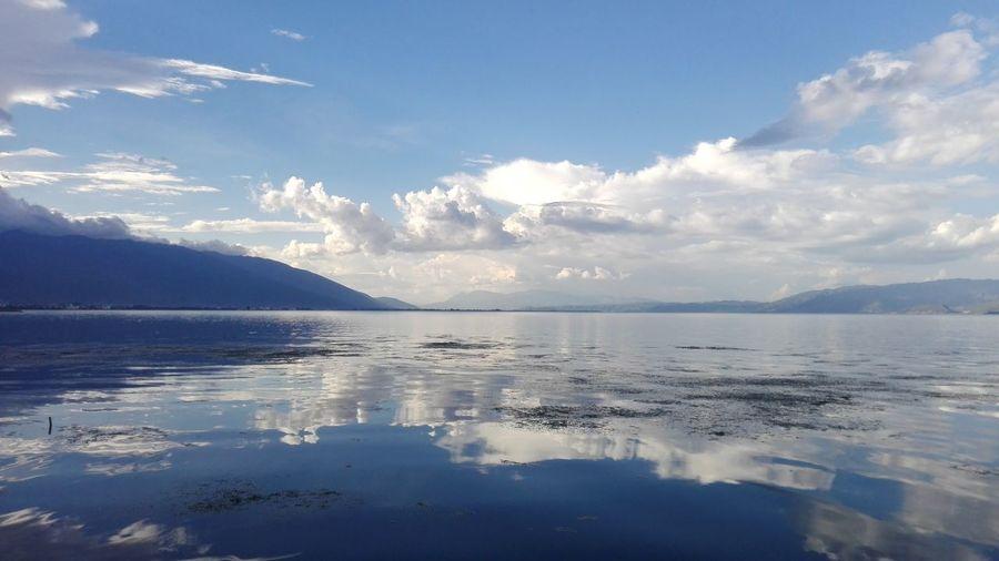 大理 Dali Yunnan Erhai Lake,Dali Cloud Sky And Lake Goodmood☀️ Biketour