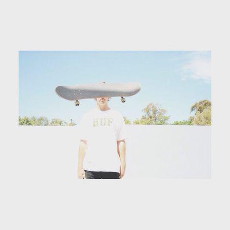 Skateboarding Skating Huf