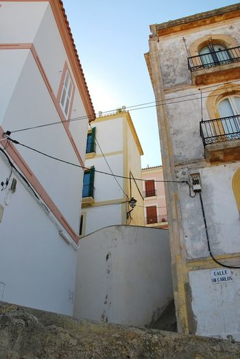 Street Eivissa Dalt Vila Ibiza Industry Business Finance And Industry Sky Architecture Built Structure Construction A New Perspective On Life 17.62° My Best Photo