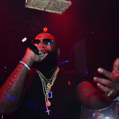 Took this photo of Rick Ross when he was Dubai, performing at the Cavalli club. Nightlife People Nightclub Arts Culture And Entertainment Performance Event Rickross Rozzay Dubai Mydubai Cavalli Photography First Eyeem Photo