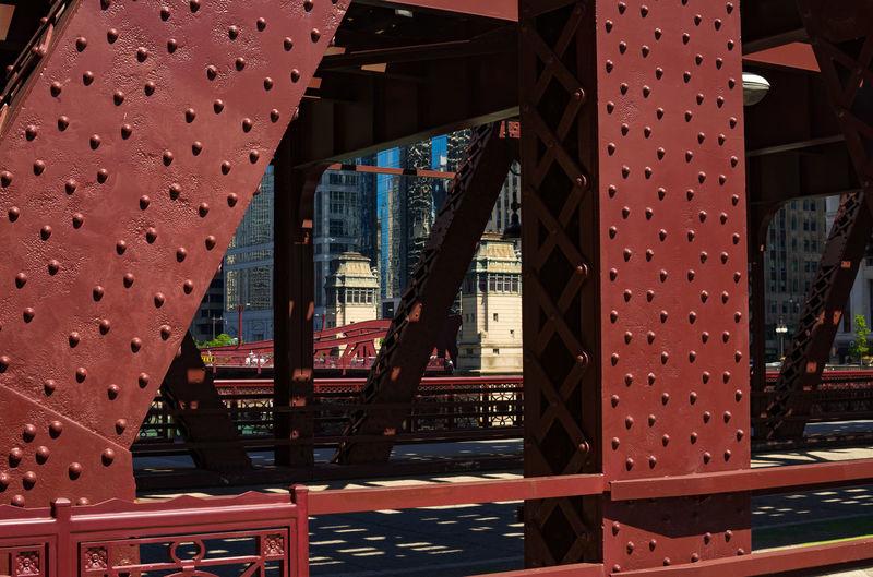 Close-up of bridge