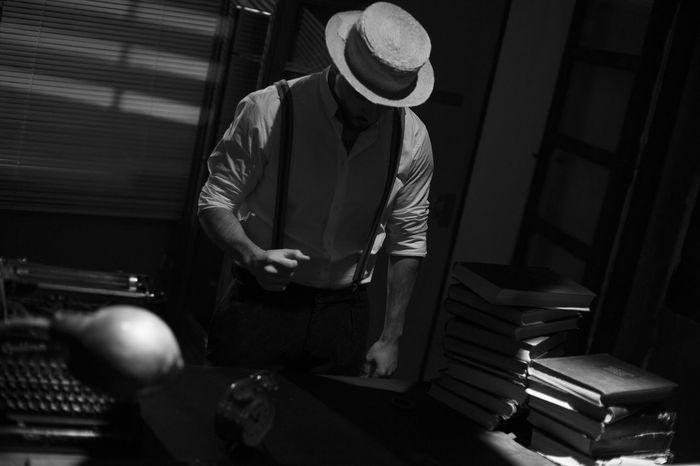 Noirphotography ATITUDE Angryman Noire Et Blanc