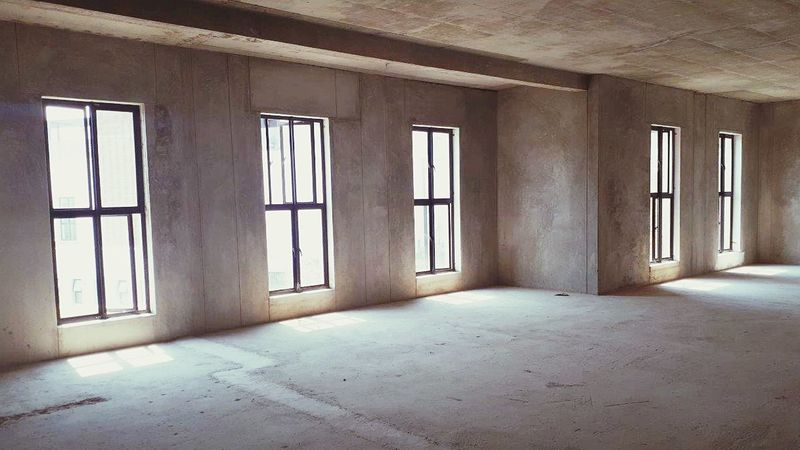 Concrete Window Building Architecture No People Abandoned Sunlight Raw Material Inside Out Built Structure