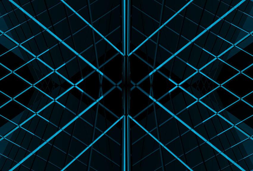 blue light beam line background Futuristic Graphic Light Shape Abstract Art Backgrounds Beam Blue Ceiling Design Desıgn Full Frame Geometric Geometric Shape Grid Modern No People Pattern Shape Symmetry Technology