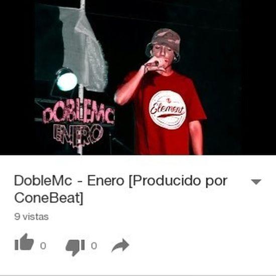 Nuevo tema, mandale play! https://youtu.be/JdmKobcnm8M DobleMc Enero RapArgentino ConeBeat Youtube 2MC