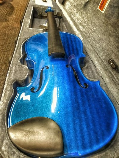 Blue Violin. Hooveralabama 2ndandCharles Violin