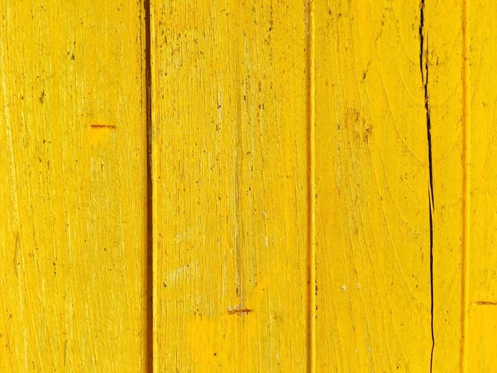 Yellow texture Full Frame Wood - Material Backgrounds Yellow Textured  No People Pattern Wall - Building Feature Close-up Architecture Rough Weathered