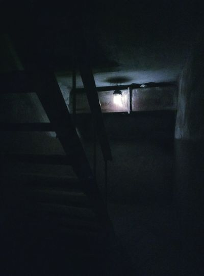 Staircase Steps And Staircases Dark Steps Indoors  Illuminated Lighting Equipment No People Architecture Basement Creepy Noise