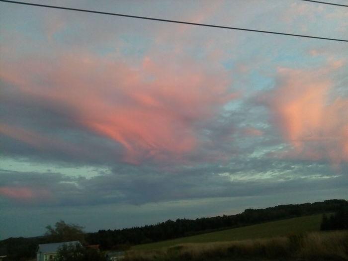 Blue Cloud - Sky Cloudscape Dramatic Sky No People Outdoors Remote Rural Scene