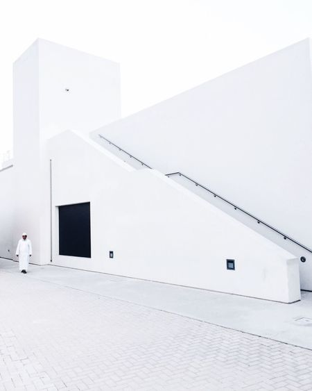 The Architect - 2017 EyeEm Awards // urban and modern architecture amidst the heritage area in Sharjah // Minimalism Architecture White White Color The Architect - 2017 EyeEm Awards