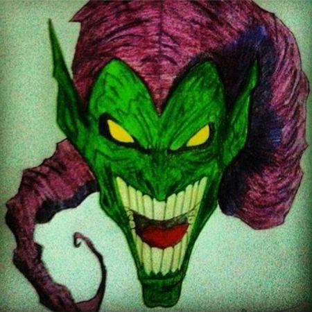 Goblin Marvel Comics Spiderman ArtWork