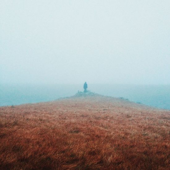 The Adventures of Amanda in the Fog's Peak Scenics Nature Tranquility Fog Tranquil Scene Beauty In Nature Outdoors Landscape Idyllic Sky Lost In The Landscape TheAdventuresOfAmanda Wanderlust Adventure Travel Go Higher