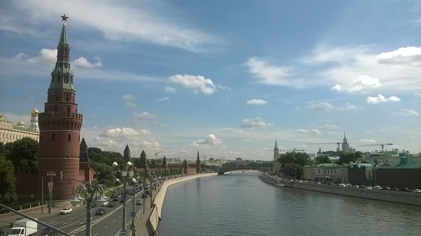 Architecture City Cityscape Kremlin Kremlin Architecture Russia Moscow River Russia Sky Water